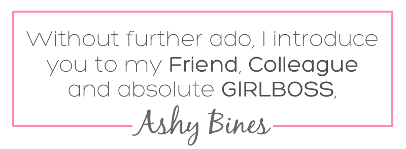 Ashy Intro